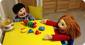 Sunny Boy and Sunny Girl in Speech Therapy
